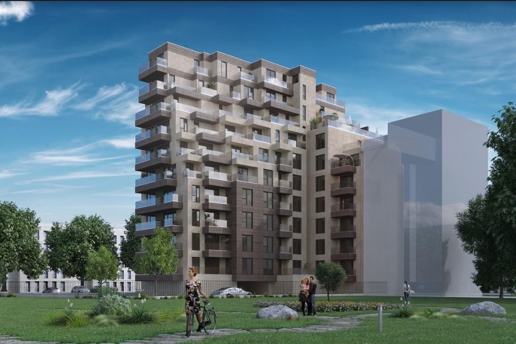Новострояща се жилищна сграда в Младост 1А
