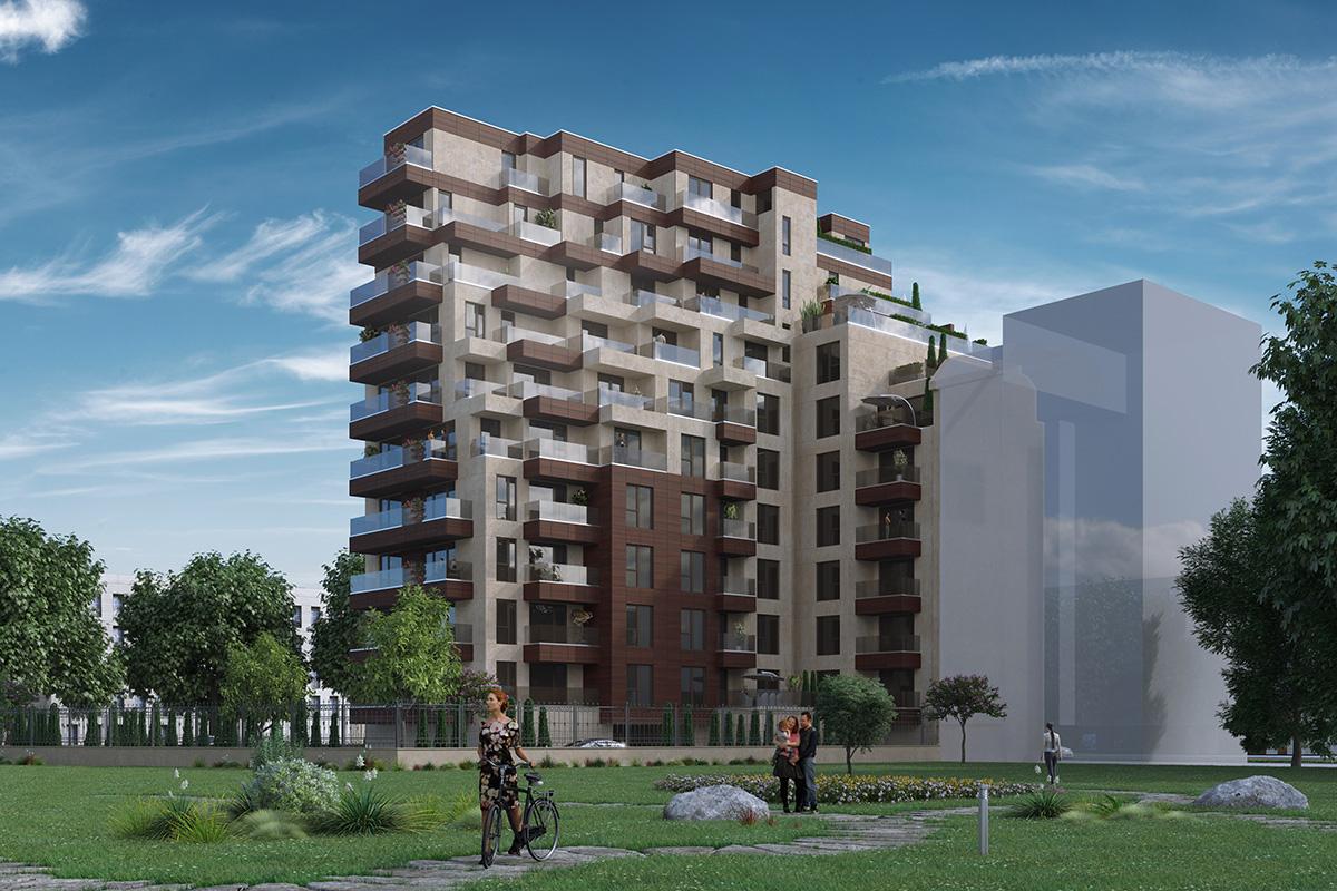 Нова жилищна сграда в ж.к. Младост 1А