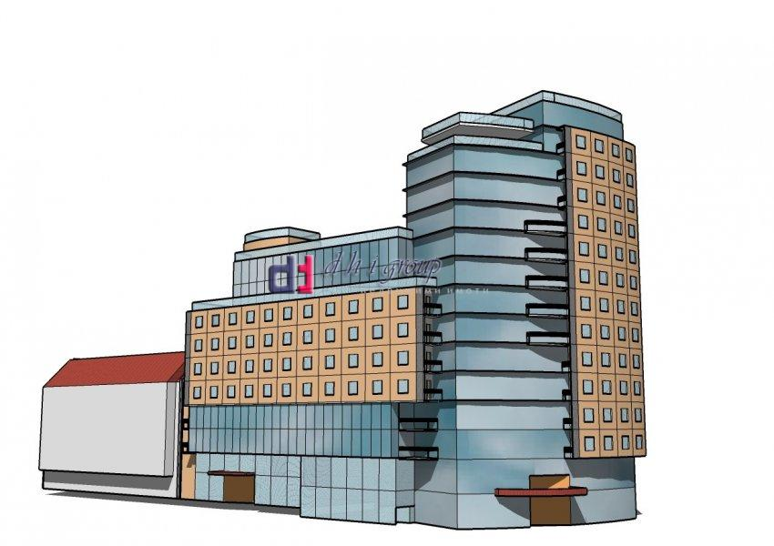 Парцел за  многофункционална сграда