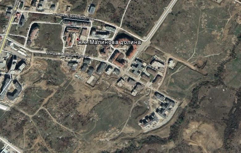 Парцел за жилищно строителство в кв. Малинова долина