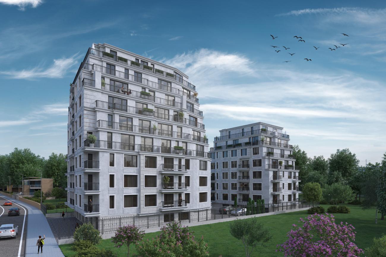 1,2 и 3-стайни апартаменти в нова сграда в Овча Купел